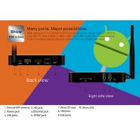 Quality R68 Android TV Box RK3368 64bit Expand Memory Rockchip TV Box Infrared Remote for sale