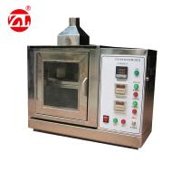 Buy cheap Car Interior Material Flame Retardant Test Chamber , Burning Resistance Test Machine from wholesalers