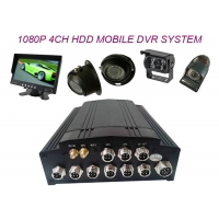Buy cheap 10W 4G 3G GPS WIFI RS485 4CH 1080P HD DVR Recorder from wholesalers