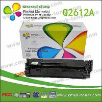Buy cheap Laser Printer Toner Cartridge black Q2612A compatible  for HP from wholesalers