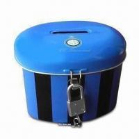 Buy cheap Money Box/Coin Bank/Saving Tin/Music Penny Bank, Available with Slot and Lock from wholesalers