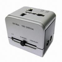 Buy cheap Universal Travel Adapter with Voltage of 110 and 220V AC for Over 150 Countries from wholesalers