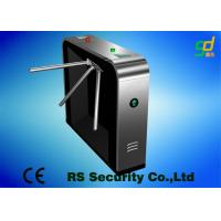 Buy cheap Luxury Black Security Tripod Turnstile Gate Civilized And Orderly Access from wholesalers