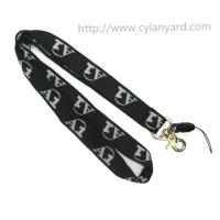 Buy cheap Custom made woven lanyards, single sided jacquard letters and logo, cheap prices, from wholesalers