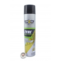 Buy cheap MSDS Acrylic Tire Shine Car Care Foam Spray from wholesalers