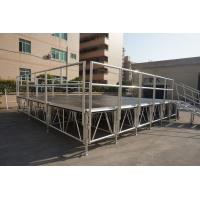 Buy cheap RK Adjustable aluminum  stage for trade show/portable dj stage from wholesalers