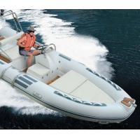 Buy cheap PVC Aluminium Floor Inflatable Power Boats , Electric Inflatable Boat from wholesalers