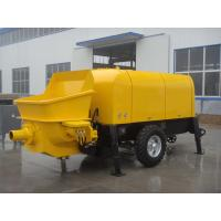 Buy cheap 50m3/h Diesel Trailer Mounted Portable Concrete Pump Concrete trailer pump from wholesalers
