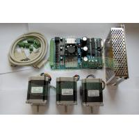 Buy cheap ship from USA Nema 23 Wantai Stepper Motor 290oz-in,1A+3 Axis Board CNC Kit from wholesalers