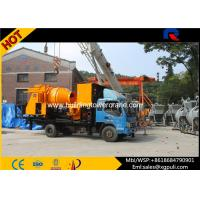 Buy cheap Truck Mounted Concrete Mixer Pump Truck Max Pumping Output 40m3/h from wholesalers