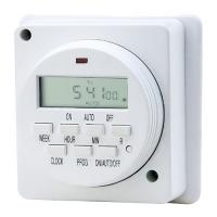 Buy cheap Cheapest Wall Mounted Digital Plug Timer Light Timers for Lights Time Switches Socket Timer from wholesalers