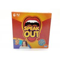 Buy cheap Interest Training Speak Out Party Game , Speak Out Game Family Version from wholesalers