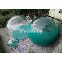Buy cheap EN15649 Certificated 4M Inflatable Bubble Tent With 0ne / Two Rooms from wholesalers