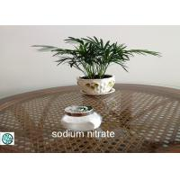 Buy cheap High Purity Sodium Nitrate In Food Cubic Niter / Soda Niter / Peru Saltpeter from wholesalers