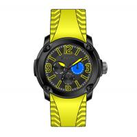 Buy cheap Automatic Mechanical Watch , Silicon Band Multifunction Watches For Men from wholesalers
