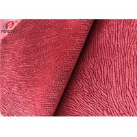 Buy cheap Custom Colour Polyester Minky Fabric Burnout Synthetic Velvet Sofa Upholstery Fabric from wholesalers