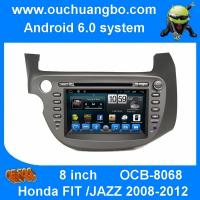Buy cheap Ouchuangbo car radio  touch screen android 6.0 for Honda FIT JAZZ 2008-2012 with gps navigation bluetooth from wholesalers