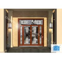 Buy cheap Hollow Insulated Privacy Decorative Panel Glass Red Copper Thickness 25.4 MM from wholesalers
