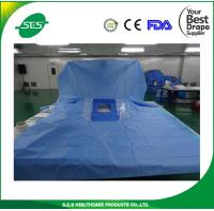 disposable surgical kit/Free Sample Sterile laparotomy surgical drape