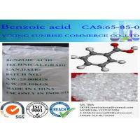Buy cheap White Mercerized Flake Benzoic Acid Food Additive CAS 65-85-0 C6H5COOH product