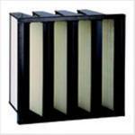 Buy cheap Medium Efficiency V Bank Filters from wholesalers
