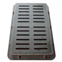 Buy cheap China factory direct custom new product 20L x 5-3/8W x 7/8D Ductile Iron Floor Drain Grate from wholesalers