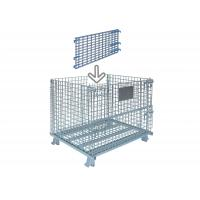 Buy cheap Standard Collapsible Wire Container Industrial Wire Bins 30 Inch Wide X 28 Inch High from wholesalers