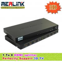 Buy cheap 8 Way HDMI Splitter Splitter (3D supported) from wholesalers