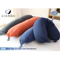 Buy cheap Soft Plush Microbeads Memory Foam Pillows With 100% Polyester Fleece Material , CE SGS from wholesalers