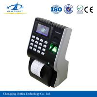 Buy cheap Employee Printer Attendance Tracking Machine with Fingerprint Scanner HF-P10 from wholesalers