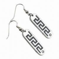 Buy cheap Drop Earrings, Made of Stainless Steel/Titanium, Wholesale Customized Logos Accepted product