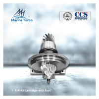 Buy cheap Diesel Radial Flow T-RH143 Turbocharger Cartridge With Foot from wholesalers