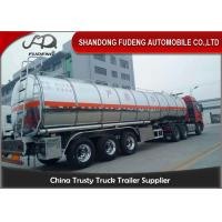 Buy cheap Stainless Steel Tanker Trailers With A Capacity Of 45000 Liters For Transport Of Palm Oil from wholesalers