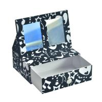 Buy cheap Customized Paper Type Paperboard Packaging Box Cosmetic Box With Drawer And Mirror from wholesalers