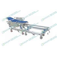 Buy cheap Luxurious Stretcher bed Cart for Transfer Patients / Aluminum Alloy transport stretcher from wholesalers
