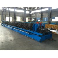 Buy cheap Heavy Duty Perforated Ladder Cable Tray Roll Forming Machine With Automatic Size Adjusting from wholesalers