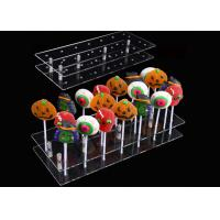 Buy cheap 20 Hole Acrylic Lollipop Display Stand Cake Pop Stand Holder For Party Decoration from wholesalers
