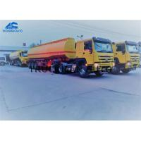 China 50 Tons Oil Transportation Trucks , Tank Semi Trailer With The Fire Extinguisher on sale