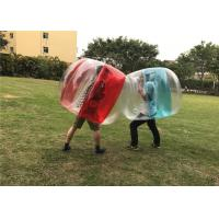 Buy cheap Parks / Shopping Malls Inflatable Body Bumper Ball for Children 0.4mm PVC from wholesalers