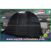 Buy cheap 2 Doors Inflatable Mobile Planetarium Dome Projection Tent For Movie Education from wholesalers