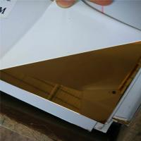 Buy cheap high quality 8k rose gold color stainless steel sheet aisi201quality 4x8 from Wholesalers