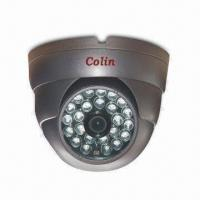 Buy cheap CCD Dome Camera with 540TVL or 650TVL High-resolution, Metal Shell for Waterproof Indoor Using from wholesalers