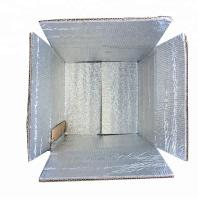 Buy cheap Biodegradable Corrugated Paper Box , Frozen Food Shipping Boxes from wholesalers