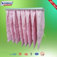 Buy cheap Medium Efficiency Air Conditioning Air Bag Filters Non - woven Fabric from wholesalers
