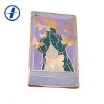 Buy cheap Metal Plating Hard Enamel Glitter Enamel Pins With Appearance Custom from wholesalers