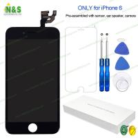 Buy cheap 1334*750 Apple Iphone 6 LCD Repair Replacement Screen Black Display Digitizer Assembly 4.7 from wholesalers