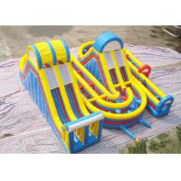Buy cheap New Adrenaline Rush Extreme Obstacle Course Inflatable Challenge for Sale from wholesalers