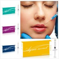 Buy cheap Aqua Secret brand breast filler injection Best Quality Face/Lip/Breast Filler Hyaluronic Acid from wholesalers