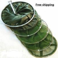 Buy cheap Free shipping! Fishing tackle quick-drying rope shrimp cage fishing net shrimp net fish cage 3 meters glue shrimp from wholesalers