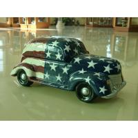 Buy cheap Classic car shape design dolomite or Ceramic Cookie Jars food container from wholesalers